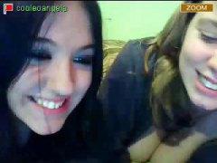 teenager, brunetter, store patter, webcam