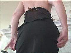 masturbationen, seidenstrümpfe, büro, hausfrau, cougar, lingerie, solo, softcore