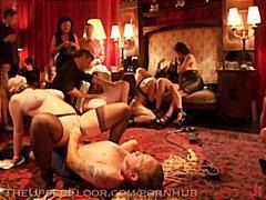 извратени, пляскане, доминация, групов секс, парти, оргия