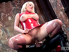 fetish, anal sex, blonde, masturbation, cum shot, shaved, couple, blowjob, latex, caucasian