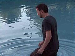 Дилън Райдър, басейн, милф, големи цици, двойка, свирки