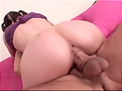 couple, caucasian, brunette, cream pie, pornstar, deepthroat, shaved, blowjob, big cock