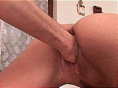 мастурбация, двойка, брюнетки, фистинг