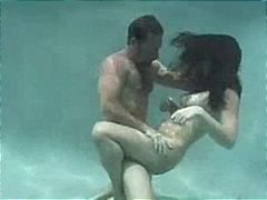 브루넷, 수영장, 커플