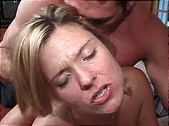 анално, мастурбация, блондинки, трио
