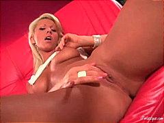 мастурбация, блондинки