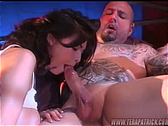 Тера Патрик, порно звезди, свирки, двойка, брюнетки