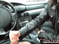 masturbace, páry, v autě, ruční práce, různé pohledy, pornohvězdy