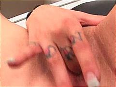 мастурбация, гълтане, порно звезди, двойка, свирки