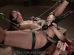 latex, vibrator, feet, whip, fetish, girl-on-girl, wiredpussy.com, domination, toys, gag-ball