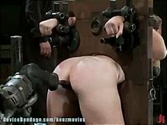 мастурбация, брюнетки, бондаж, фетиш, играчка