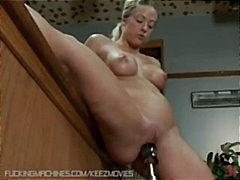 фетиш, големи цици, мастурбация, близък план, блондинки