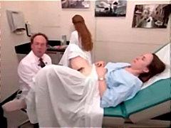 космати, гинеколог, широко отворени путки, фетиш, доктор