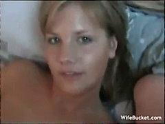 двойка, домашно видео, съпруга, блондинки, яко ебане