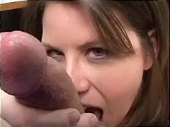 Lisa Sparxxx, pullukka, käsityö, luonnolliset rinnat, siemensyöksy, näkökulma (pov), ruskeaverikkö