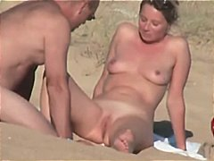 скрит, двойка, плаж, французойки, бръснати, голи жени