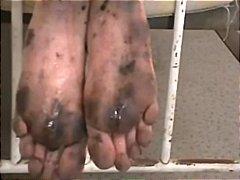 sclavie, fetish picior, murdar
