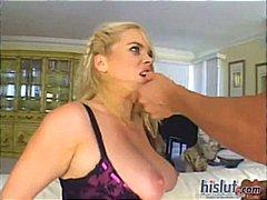 Alicia Rhodes, isot rinnat, kasvoille, rotujenvälinen, gonzo