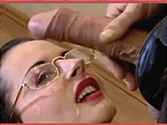 Мишел Уайлд, порно звезди, на лицето, празнене