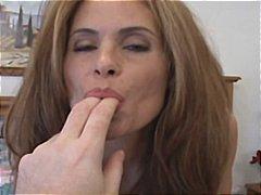 zrzky, starší ženy, sperma v obličeji