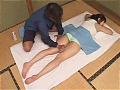 amateur, massage, japanisch
