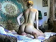 женска доминация, лице, старо порно