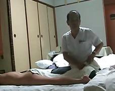 Jepun Wife Orther Man Massage