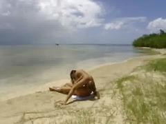 анално, публично, плаж