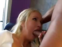 dubur, rambut blonde, porno hardcore