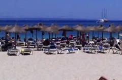 плаж, публично, зърна