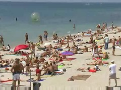 плаж, публично, тийнейджъри