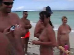 Nikki Hunter, плаж, публично, флашинг