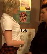 мастурбация, чекия, тийнейджъри, двойка, блондинки