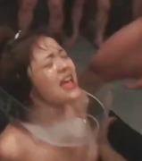 на лицето, свършват, празнене, групов секс, японки, фетиш