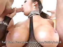 Carmella Bing, šoustání do obličeje, dávení penisem