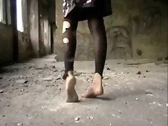 nohy v akci, špinavý sex