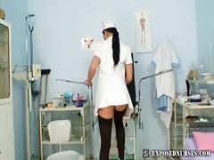 соло, играчка, широко отворени путки, медицински сестри