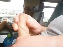 флашинг, публично, мастурбация