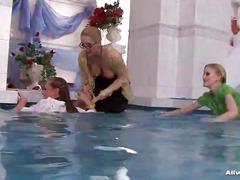 басейн, яки мацки, мокри
