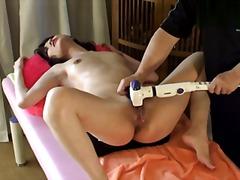 масаж, близък план, секс играчки
