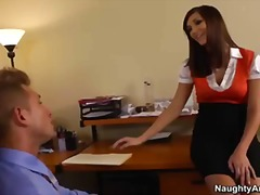 busty, office, michaels, boss, naughty, holly, cock, big-tit, heels, ass