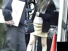 воайор, къса пола, гащички, японки, азиатки