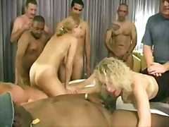 cumshot, milf, group