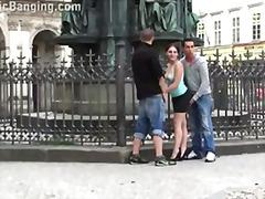 лесбийки, тийнейджъри, публично, голям кур