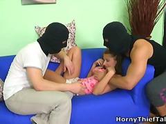 poika, kolmistaan, miespuolinen, arabialainen, märkä, kolmisin, teini, anaali, kypsä