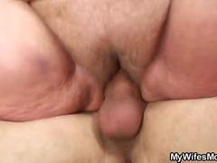 nenek, rambut blonde, porno hardcore, wanita gemuk, amatur