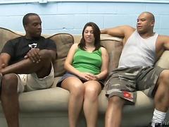 big-cock, interracial, threesome, pornstar