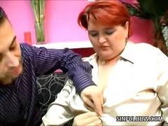 kypsä, sidottu, kauniit, häijy, lihava, punapää, isot rinnat, suuret naiset, äitee, milf