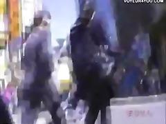 японки, воайор, камери, шпионски, къса пола, скрит
