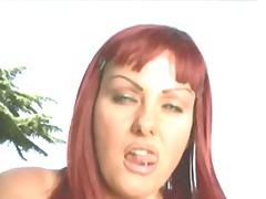 анално, червенокоси, на лицето